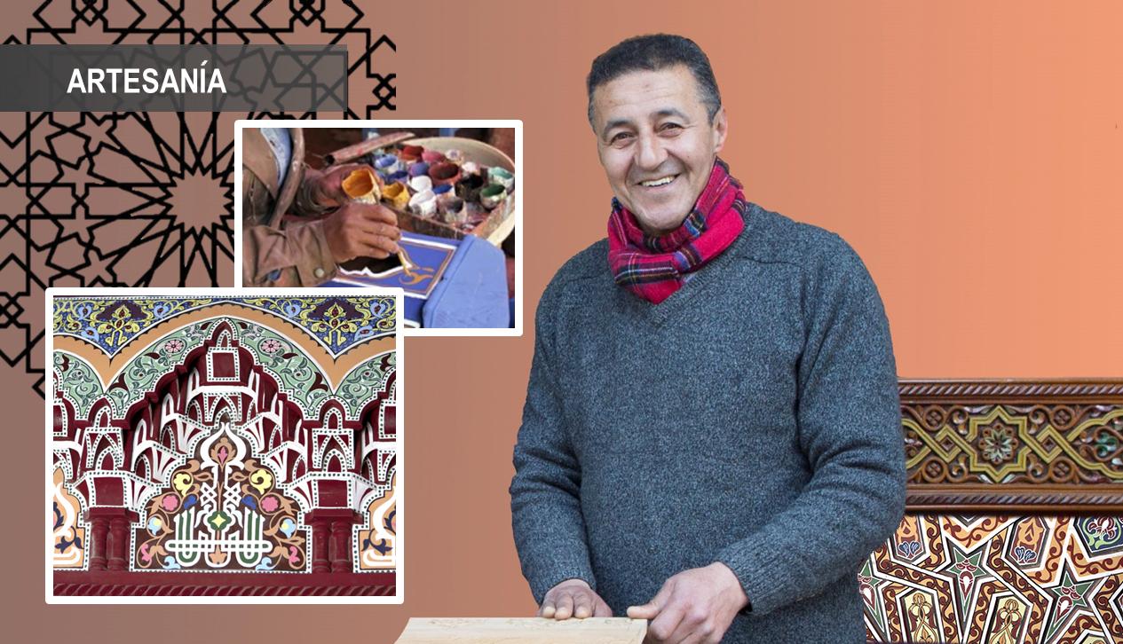 """Iniciación a la pintura decorativa marroquí """"zouak"""""""