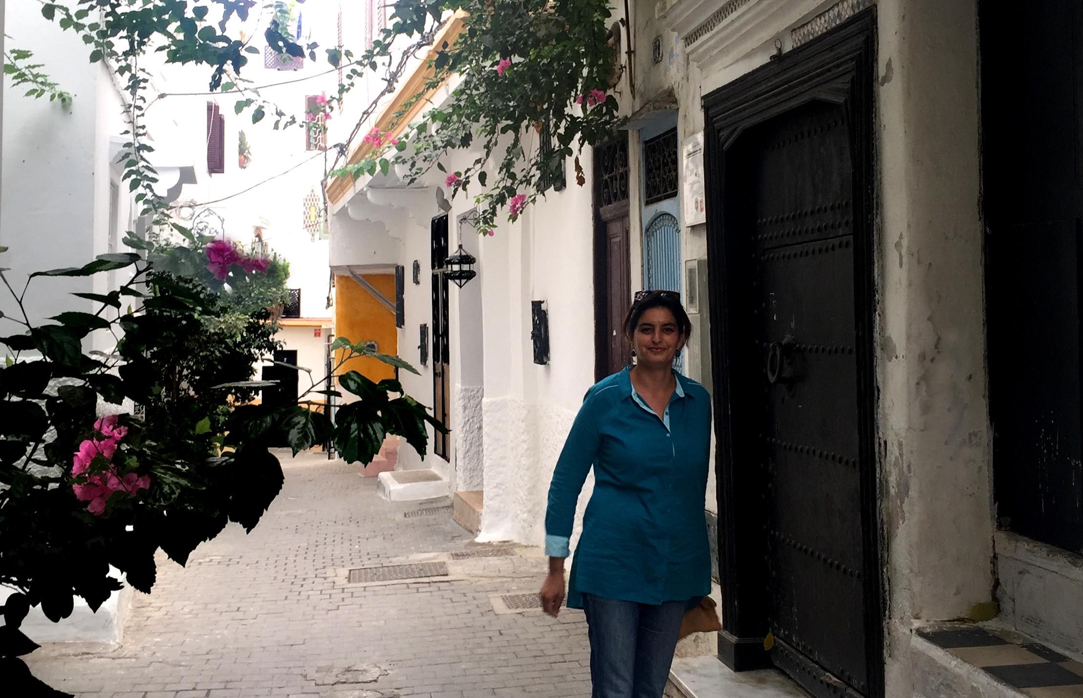 Centro Abdellah Gennoun, kasbah de Tánger.