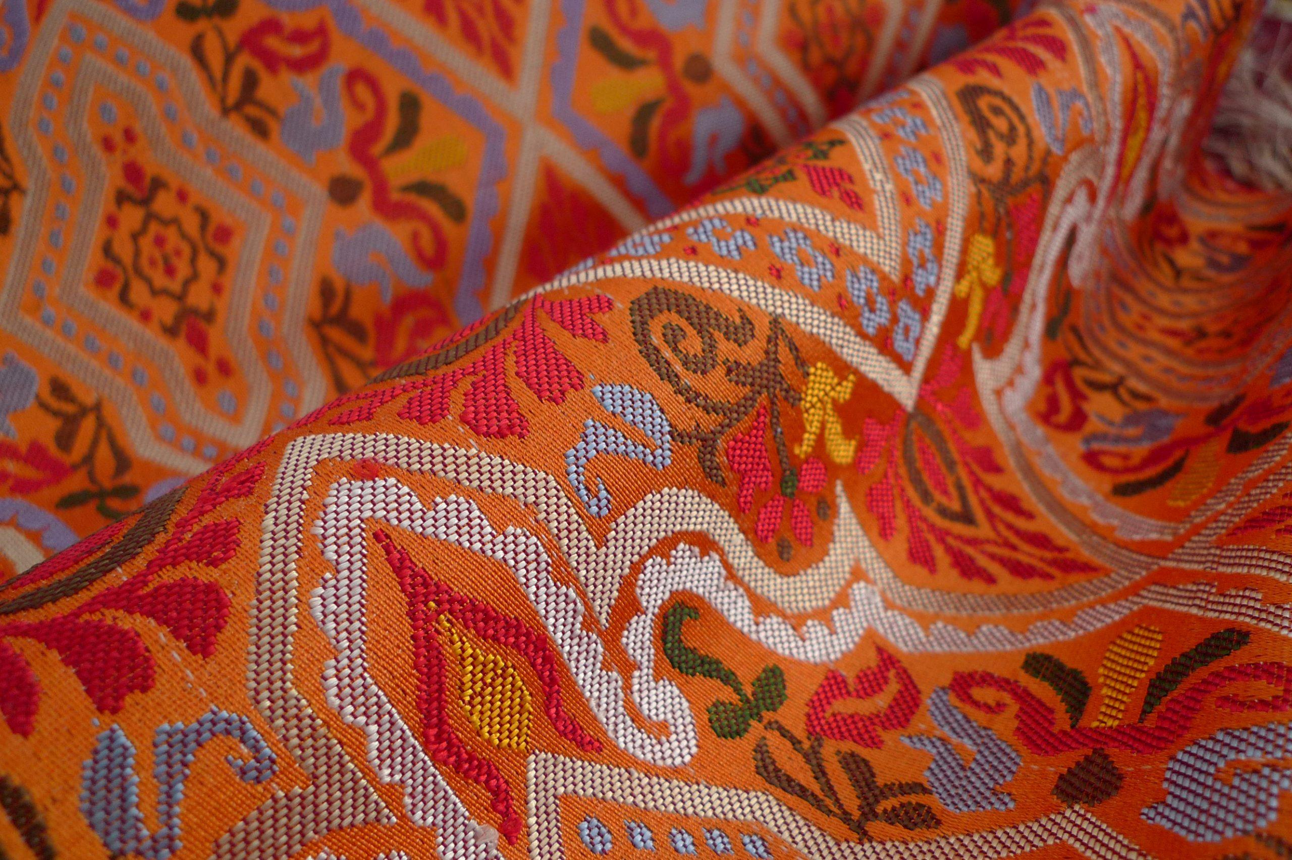 Tejido de seda de lampás, Dar al Tiraz.