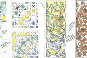 3-dibujos sobre cerámica nazarí