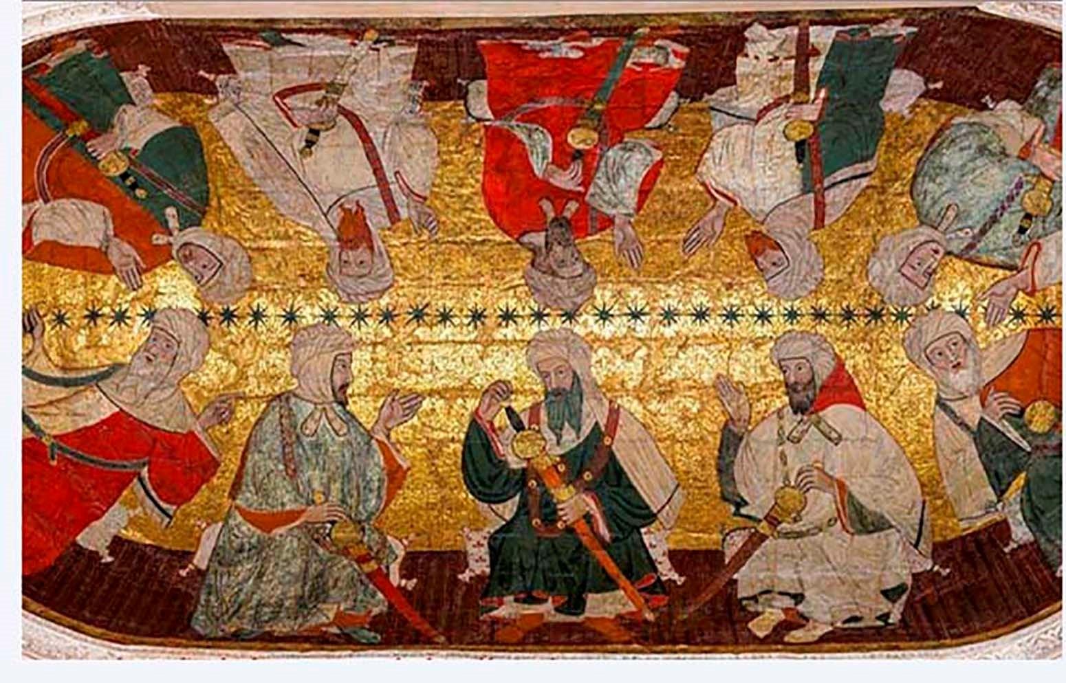 Bóveda Sala de los Reyes. La Alhambra.