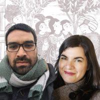 Cristina Moreno y Renato Ampuero