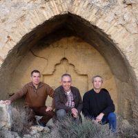 Javier Peña, José Miguel Pinilla y Jaime Carbonel