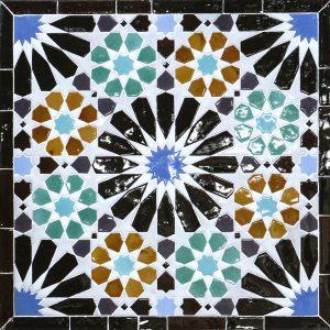 """Azulejos de La Alhambra """"Lindaraja"""" – Pieza del mes – abril 2021"""