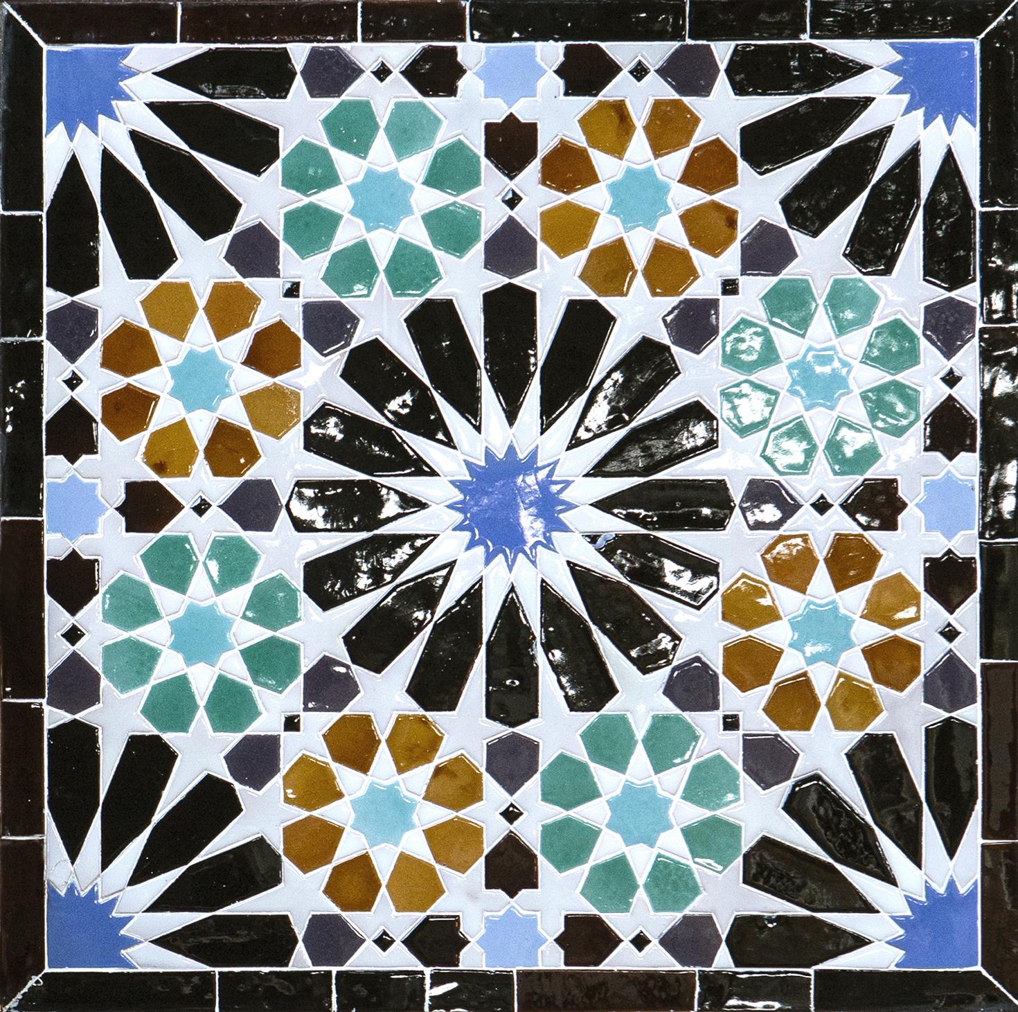 """Azulejos de La Alhambra """"Lindaraja"""""""