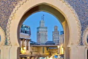 La Medina de Fez desde la Puerta Azul