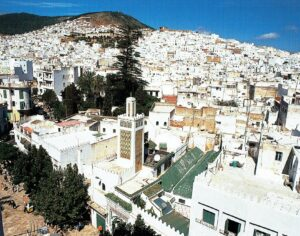 Vista de la Medina hacia el barrio del Ayún